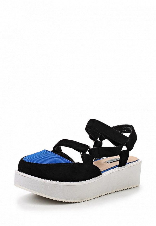Фото: Сандалии LOST INK SOPHIE SPORTY METAL DETAIL FLAT SANDAL COBALT