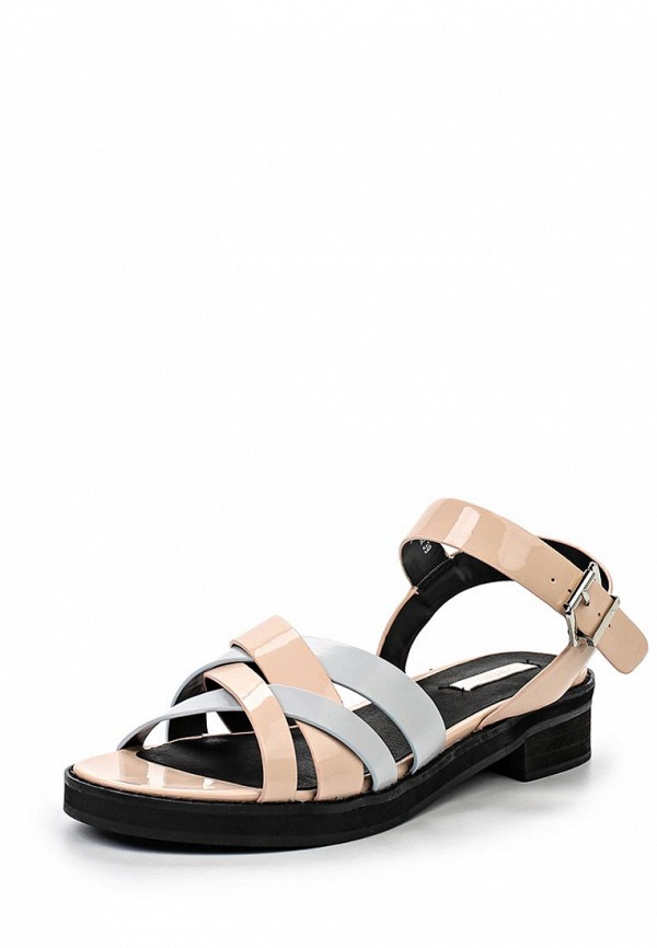 Сандалии LOST INK LOST INK LO019AWGIT30 сандалии lost ink namika square toe flat sandal
