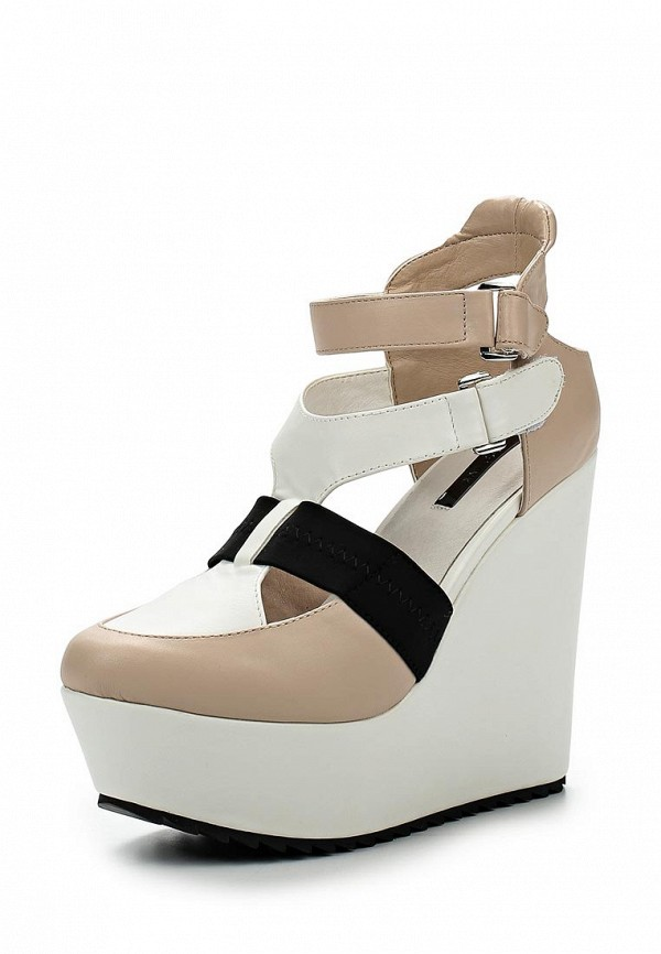 Туфли LOST INK SISSY SPORTS WEDGE - PALE PINK