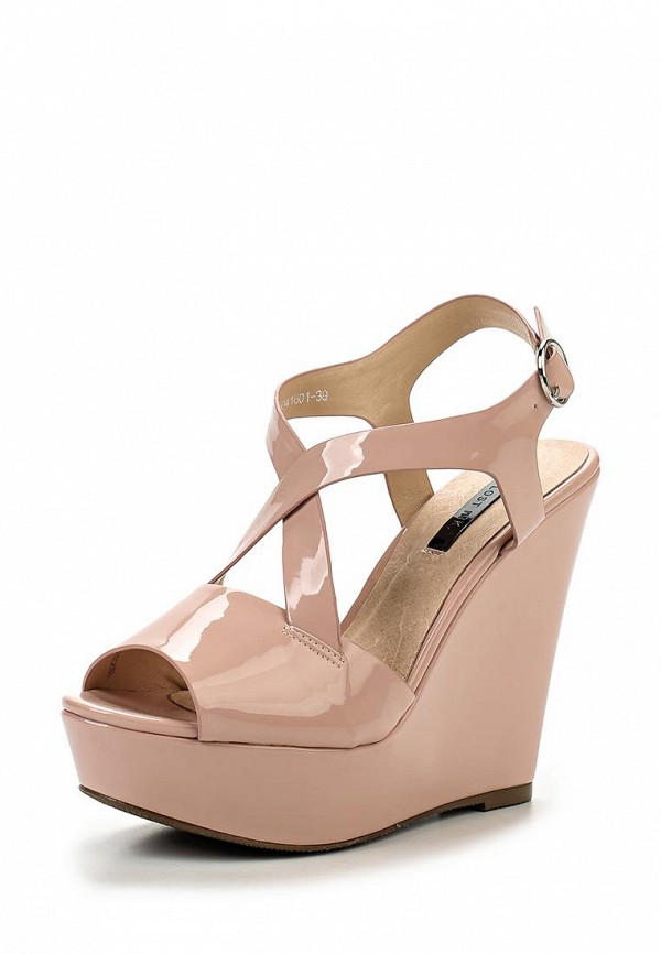 Босоножки LOST INK ROSE  HIGH WEDGE