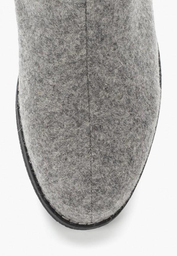 Фото 10 - Женские валенки LOST INK серого цвета