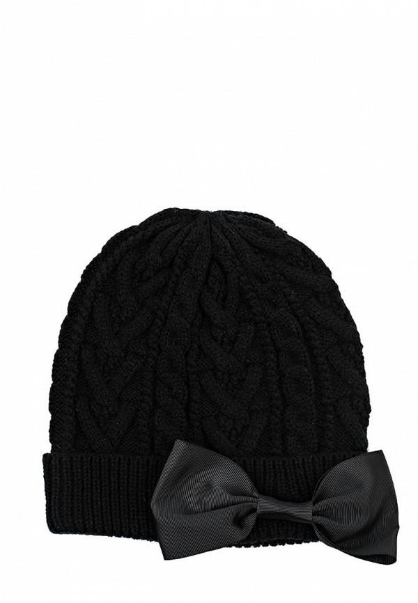 Шапка LOST INK Cables hat with bow