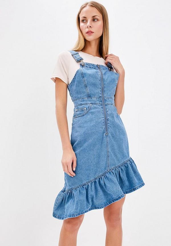 Фото Платье джинсовое LOST INK. Купить с доставкой