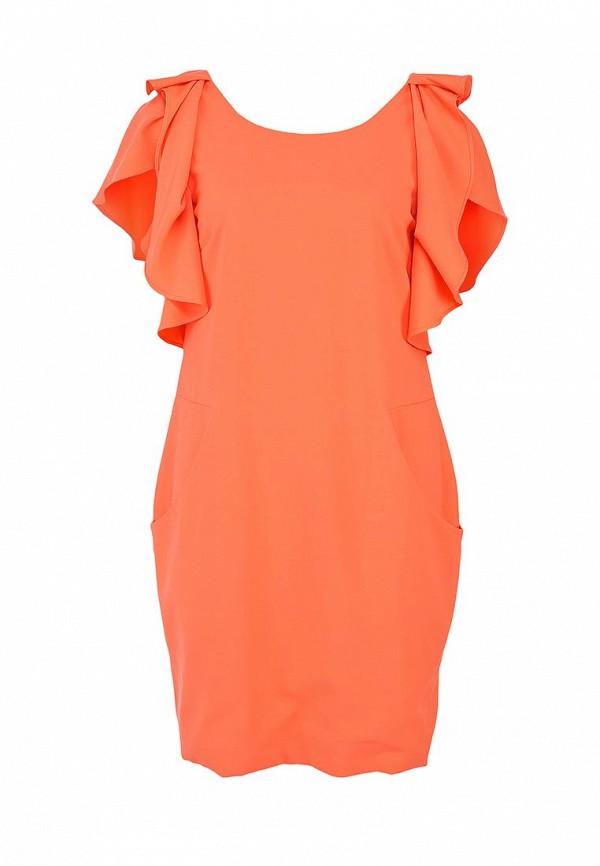 Платье LOST INK FALLON RUFFLE SLEEVE DRESS
