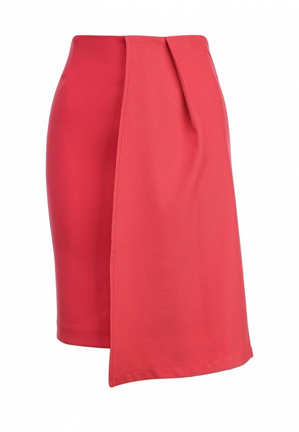 Юбка LOST INK PENCIL SKIRT WITH CONTRAST LAYER
