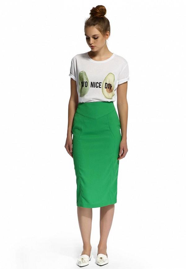 юбка зеленая с доставкой