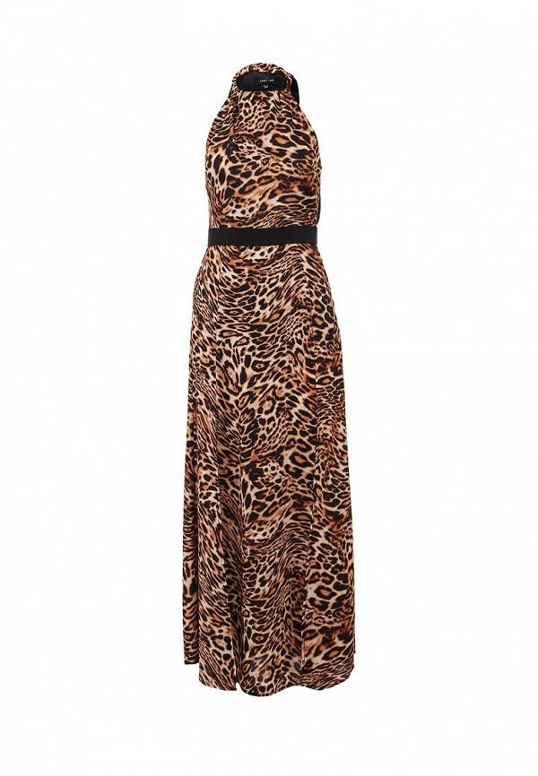Платье LOST INK TATE LEOPARD PRINT MAXI