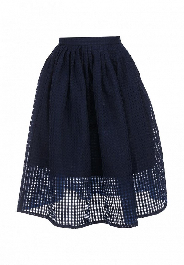 Юбка LOST INK KATE CHECK ORGANZA MIDI