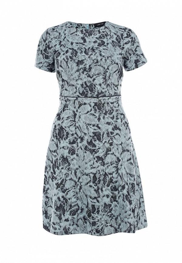 Платье LOST INK RHEA LACE WOOL DRESS