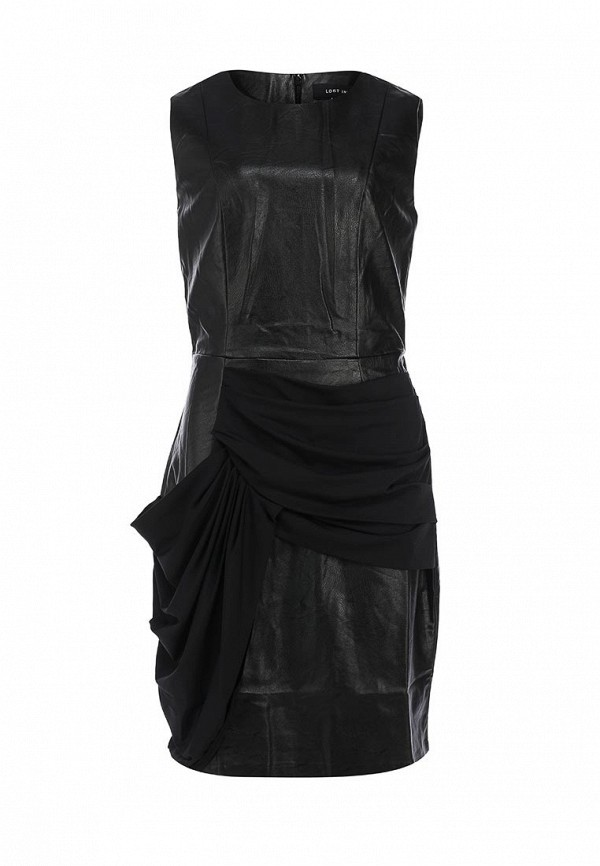 Платье LOST INK ROMI PU DRAPE BODYCON