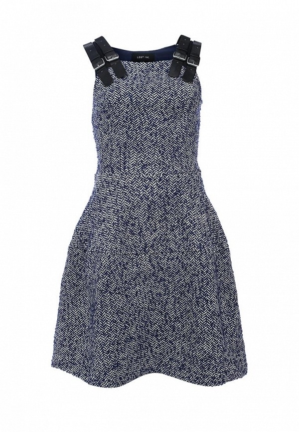 Платье-мини LOST INK. (ЛОСТ ИНК.) FW15LIW1502001001