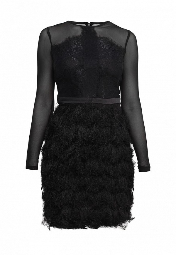 Платье LOST INK LUCINDA LACE AND FRINGE DRESS