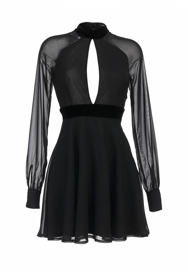 Платье LOST INK ESTHER VELVET DRESS
