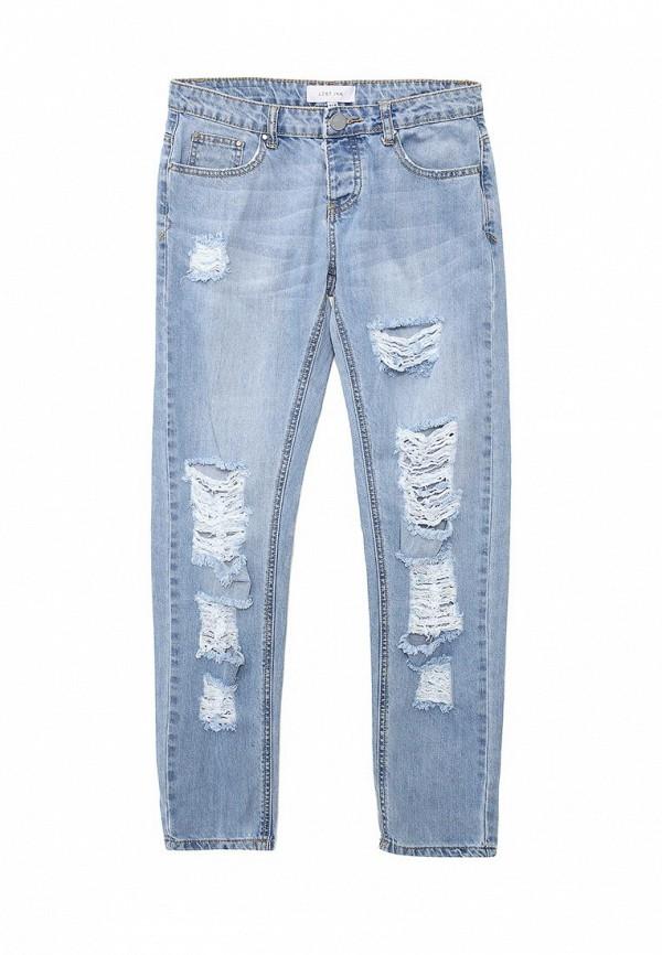 Зауженные джинсы LOST INK. (ЛОСТ ИНК.) SS16LIW1404000301