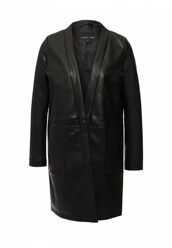 Кожаная куртка LOST INK. (ЛОСТ ИНК.) SS16LIW2006003101