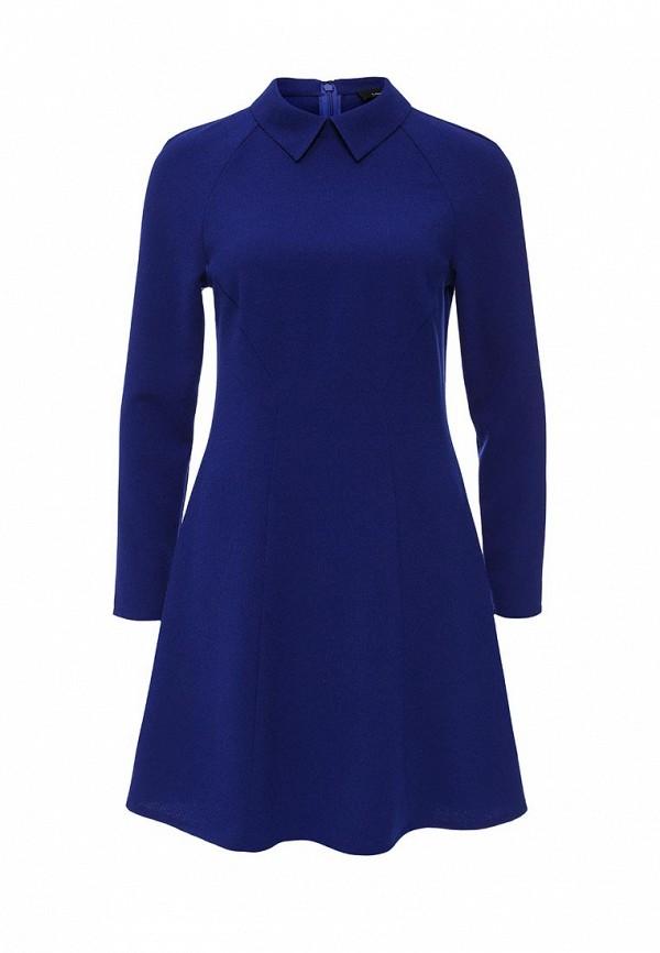 Платье LOST INK SQUARE NECK CREPE DRESS