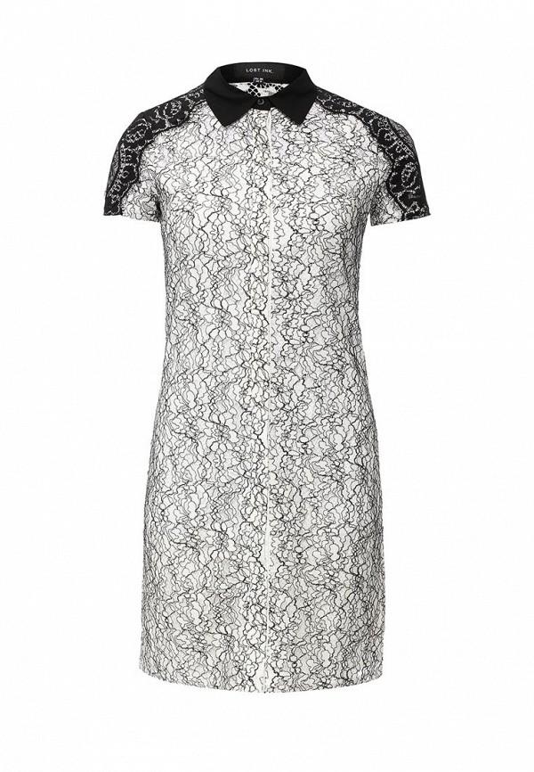 Платье-миди LOST INK. (ЛОСТ ИНК.) SS16LIW1502003802