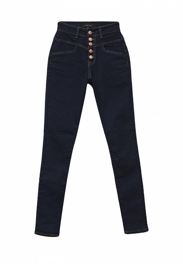 Купить женские джинсы LOST INK синего цвета