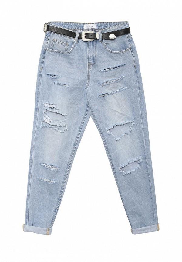 Зауженные джинсы LOST INK. (ЛОСТ ИНК.) SS16LIW1404003301