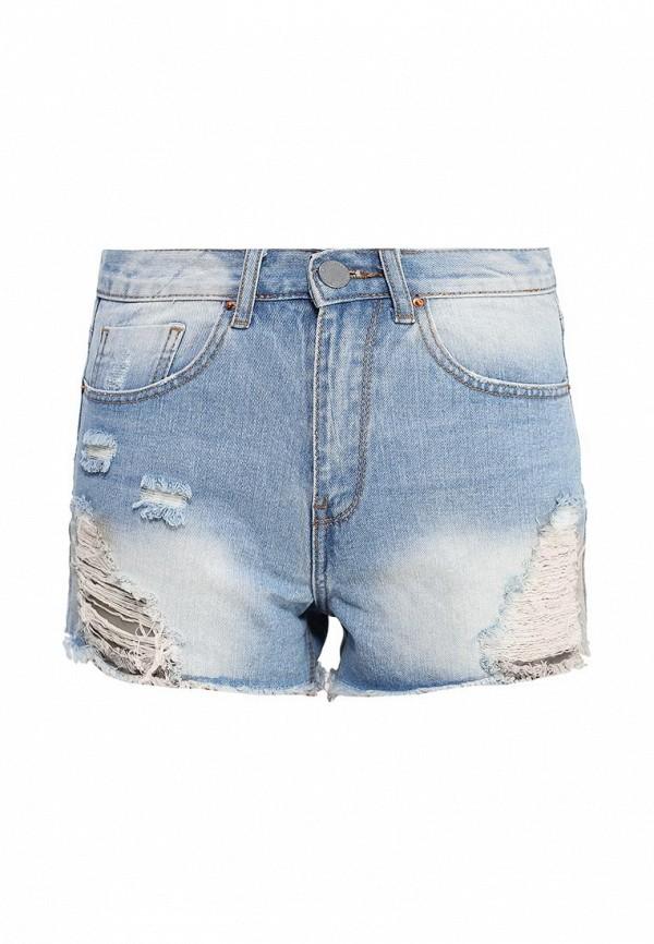 Женские джинсовые шорты LOST INK. (ЛОСТ ИНК.) SS16LIW1408004801