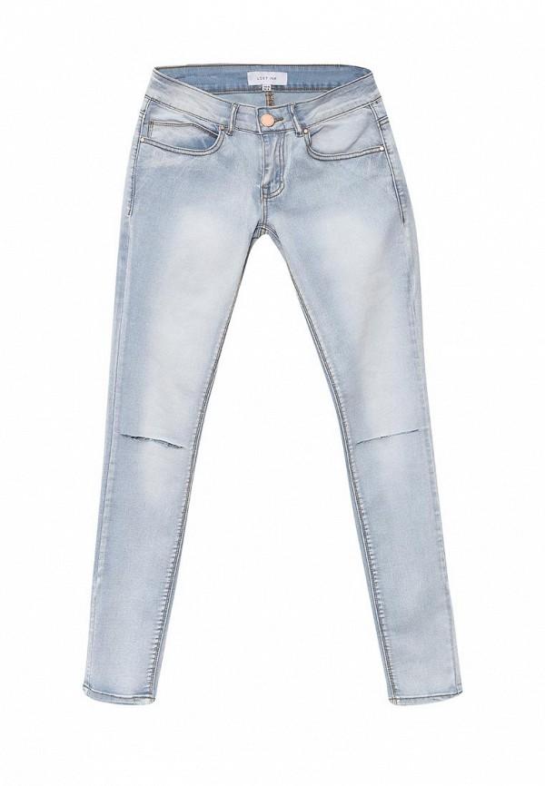 Зауженные джинсы LOST INK. (ЛОСТ ИНК.) SS16LIW1404002101
