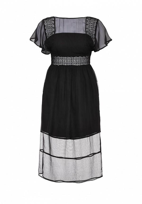 Платье-миди LOST INK. (ЛОСТ ИНК.) SS16LIW1502014601