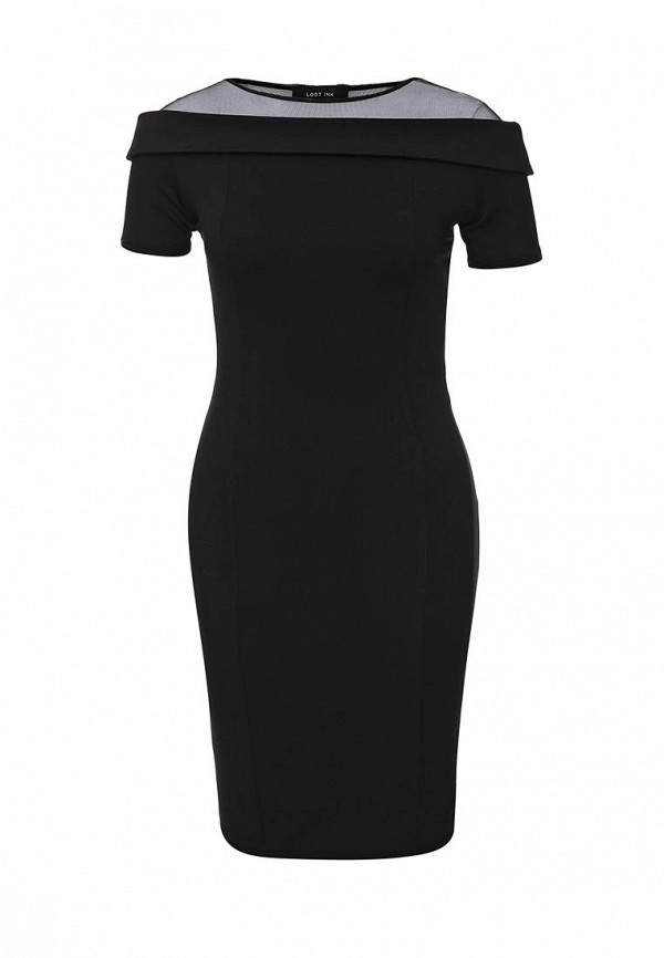Платье-миди LOST INK. (ЛОСТ ИНК.) SS16LIW1502008101