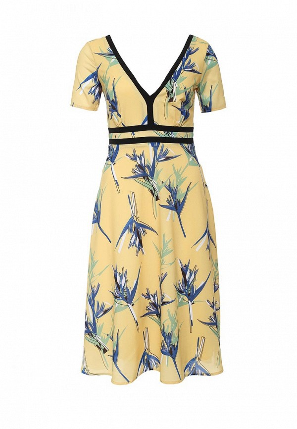 Платье-миди LOST INK. (ЛОСТ ИНК.) SS16LIW1502015801