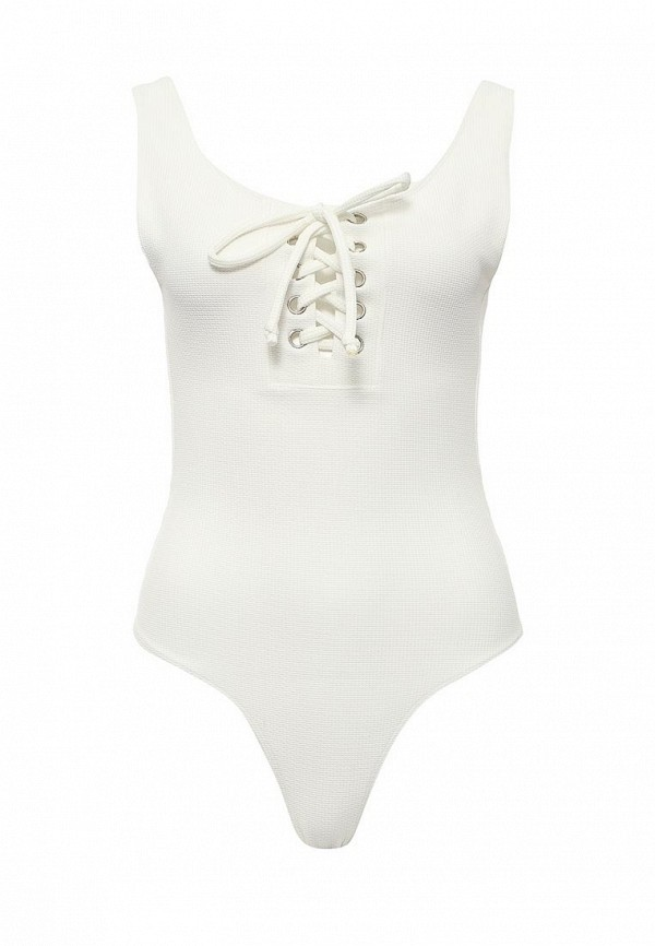Купальник LOST INK LACE UP FRONT SWIMSUIT