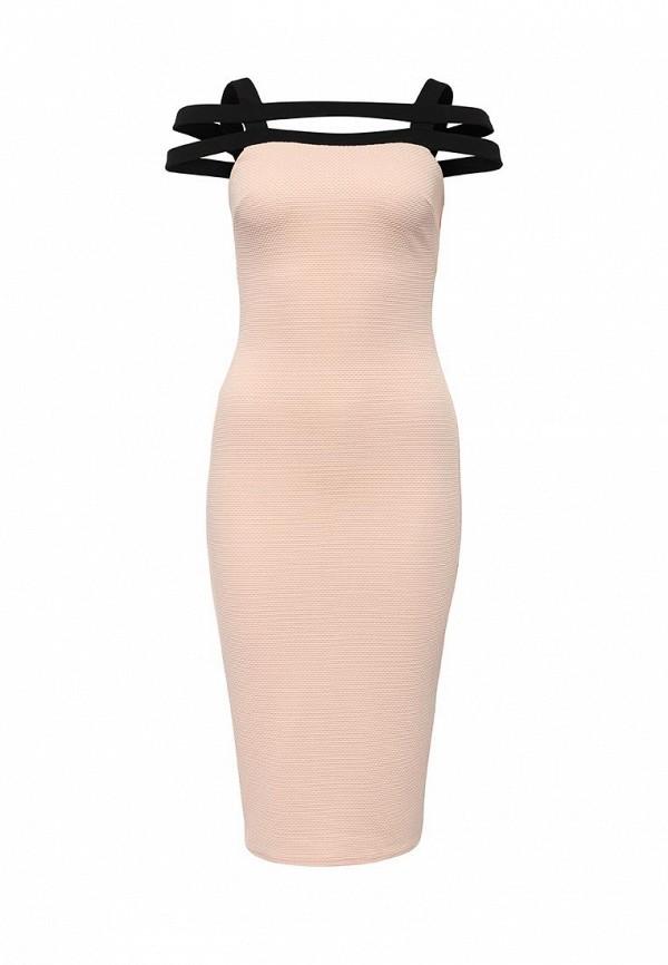 Платье-миди LOST INK. (ЛОСТ ИНК.) SS16LIW1502014901