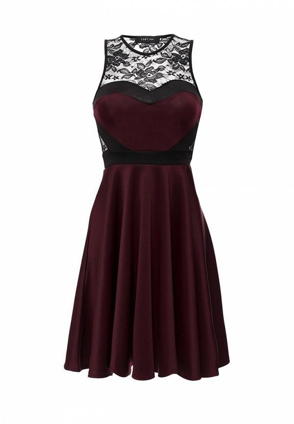 Платье-миди LOST INK. (ЛОСТ ИНК.) SS16LIW1502014101