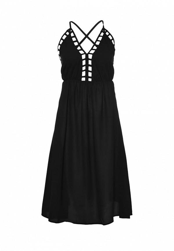 Здесь можно купить AUDRINA LADDER FLIPPY DRESS  Сарафан LOST INK Платья