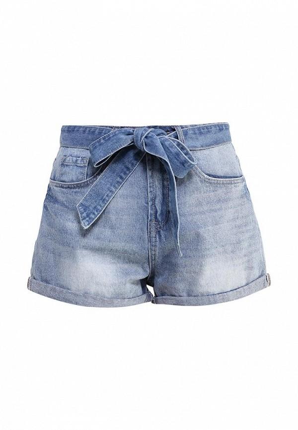 Женские джинсовые шорты LOST INK. (ЛОСТ ИНК.) SS16LIW1408006501