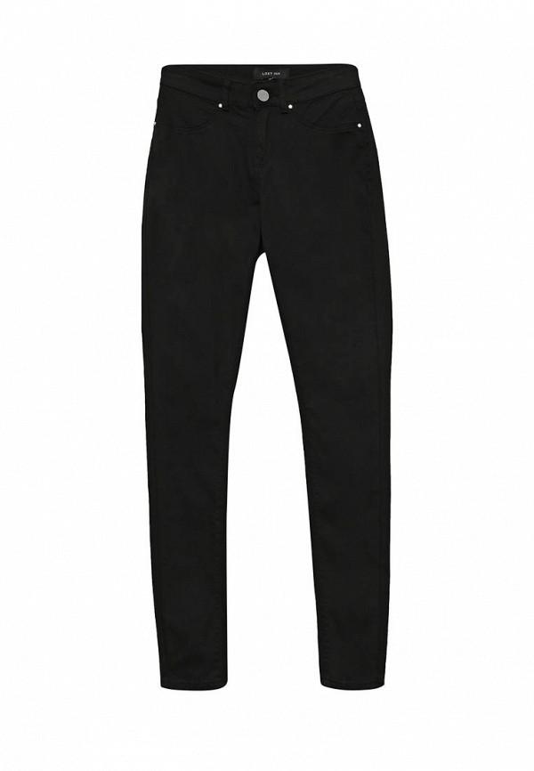 Купить женские брюки LOST INK черного цвета