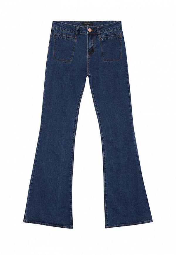 Широкие и расклешенные джинсы LOST INK. (ЛОСТ ИНК.) FW16LIW1404001601