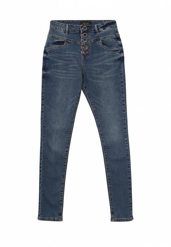 Зауженные джинсы LOST INK. (ЛОСТ ИНК.) FW16LIW1404005501