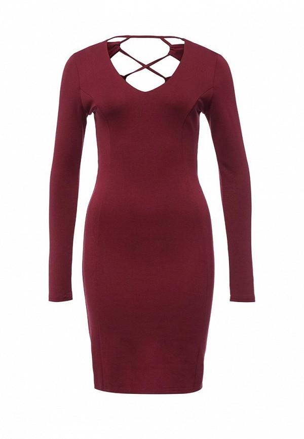 Платье-миди LOST INK. (ЛОСТ ИНК.) FW16LIW1502010701