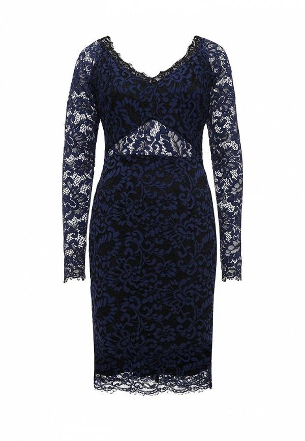 Платье-миди LOST INK. (ЛОСТ ИНК.) FW16LIW1502015601