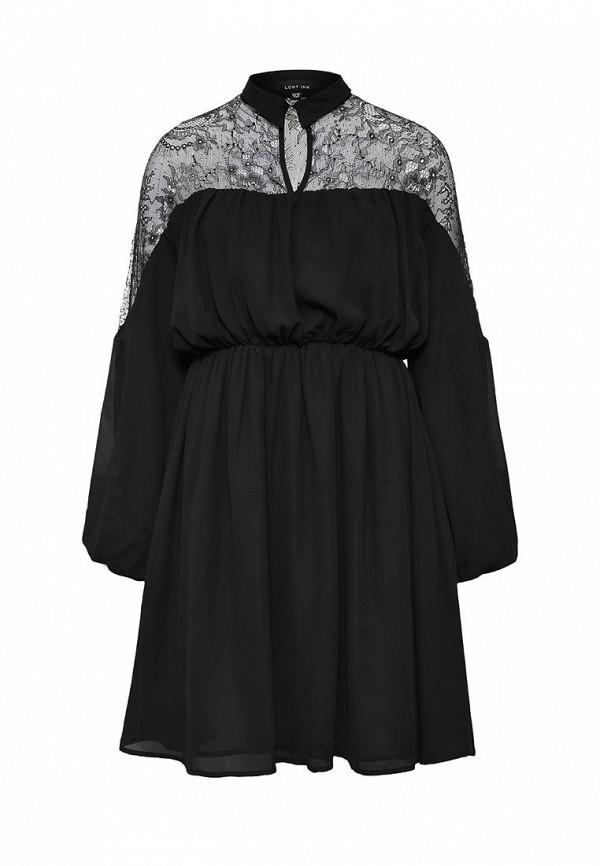 Платье-миди LOST INK. (ЛОСТ ИНК.) FW16LIW1502015801