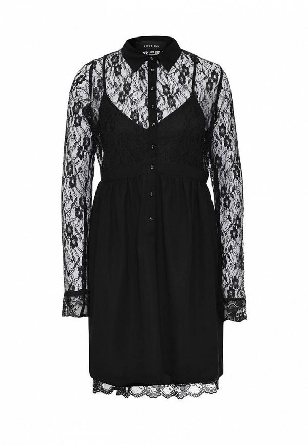 Платье-миди LOST INK. (ЛОСТ ИНК.) FW16LIW1502035701
