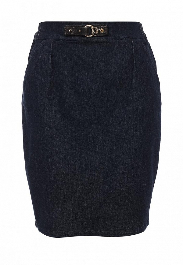 Прямая юбка LOST INK. (ЛОСТ ИНК.) FW16LIW1209000201