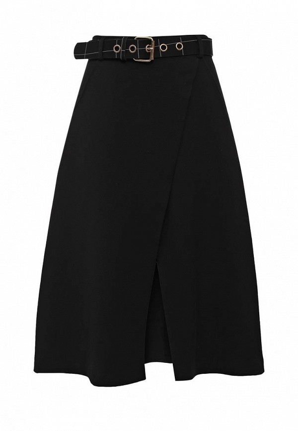 Юбка LOST INK WRAP BELTED MIDI