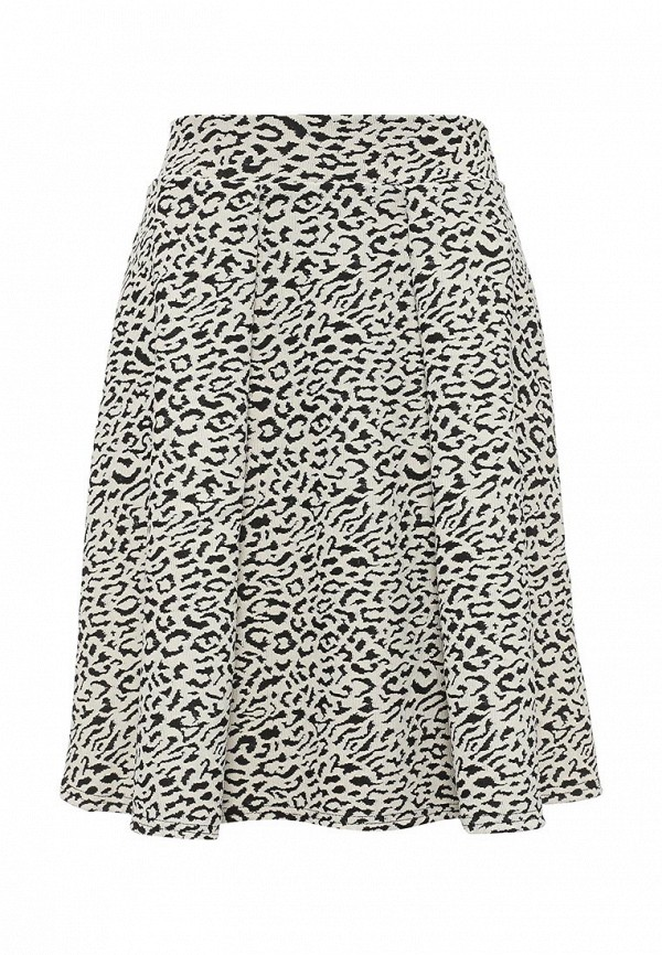 Широкая юбка LOST INK. (ЛОСТ ИНК.) Animal Textured Pleated Midi Skirt