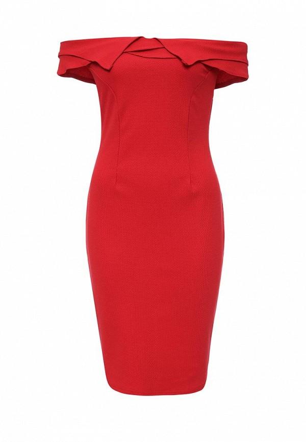 Платье-миди LOST INK. (ЛОСТ ИНК.) FW16LIW1502005502