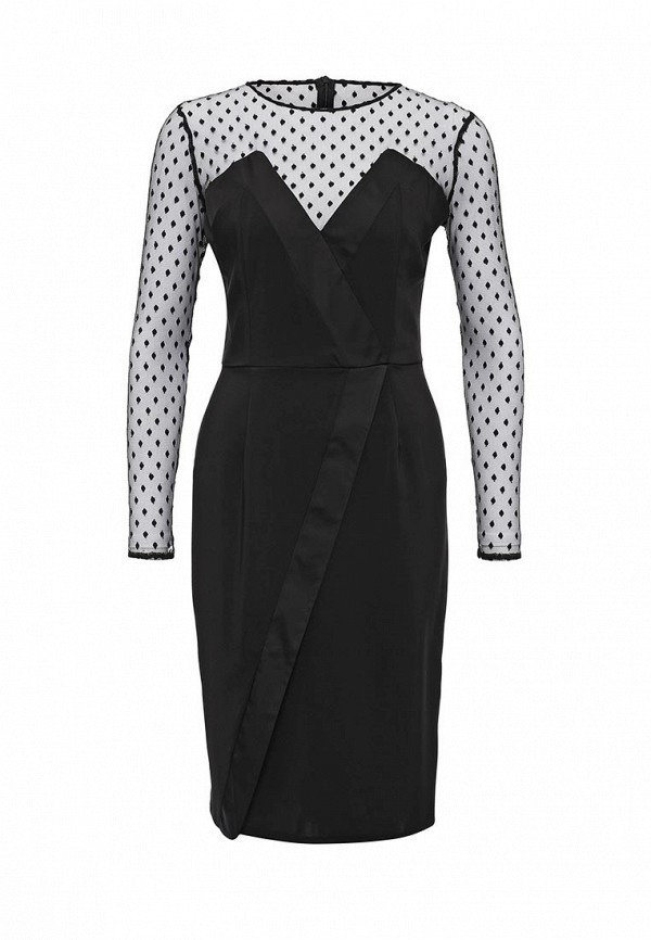Платье-миди LOST INK. (ЛОСТ ИНК.) FW16LIW1502050701