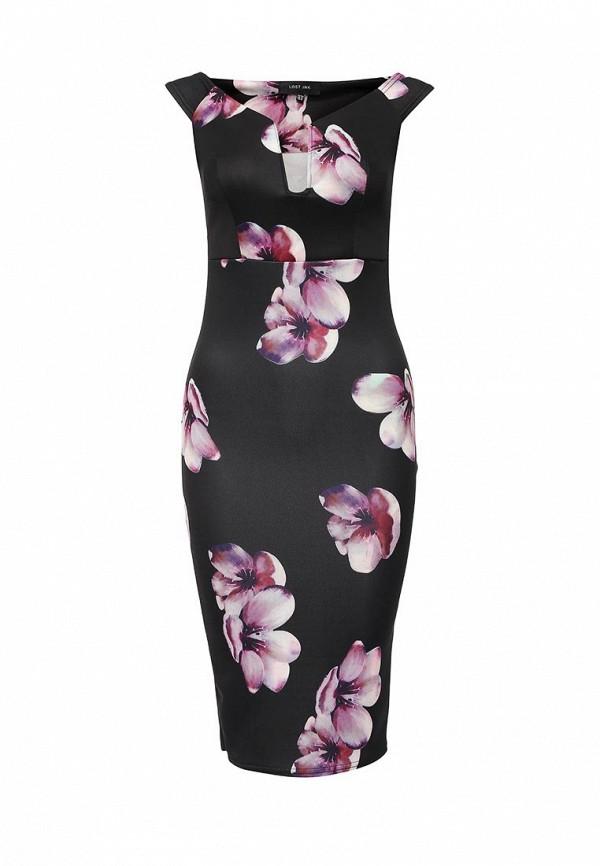 Платье-миди LOST INK. (ЛОСТ ИНК.) FW16LIW1502049501