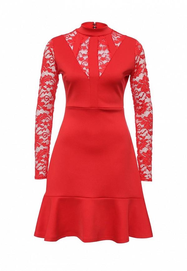 Платье-миди LOST INK. (ЛОСТ ИНК.) FW16LIW1502044302