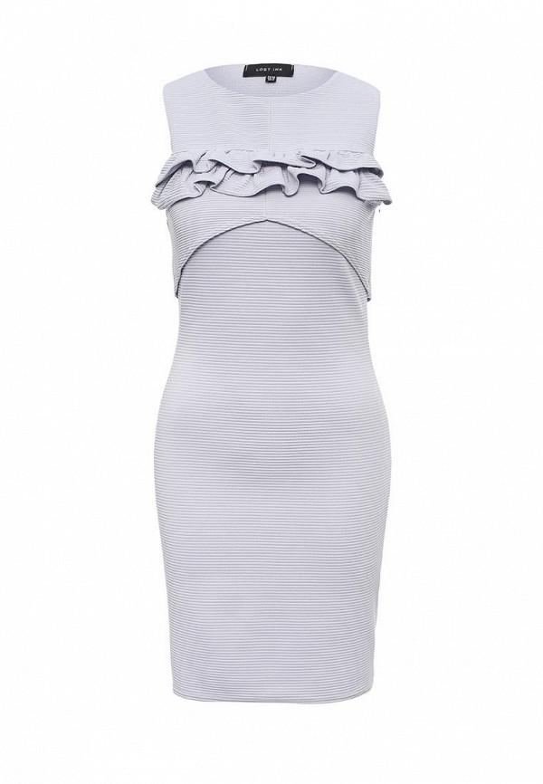Платье-миди LOST INK. (ЛОСТ ИНК.) FW16LIW1502047101