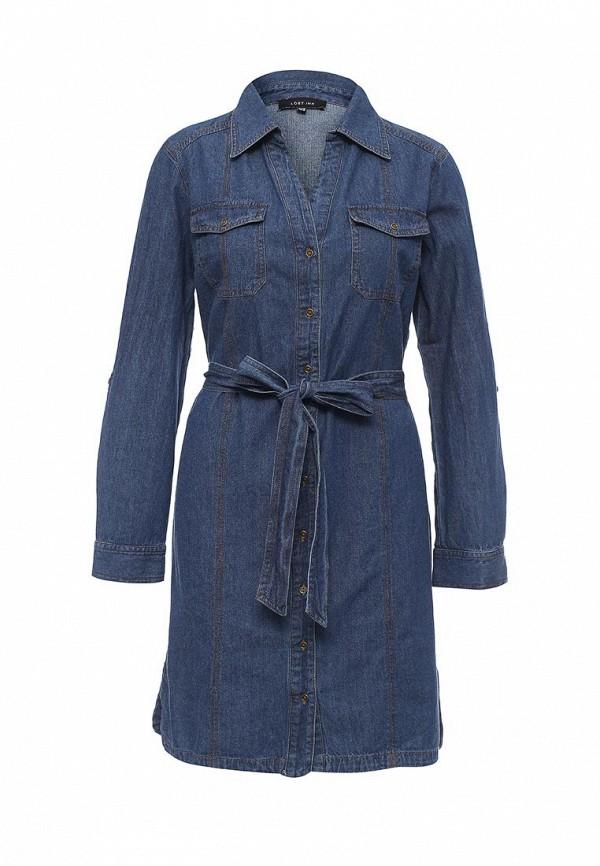 Платье-миди LOST INK. (ЛОСТ ИНК.) FW16LIW1502051801