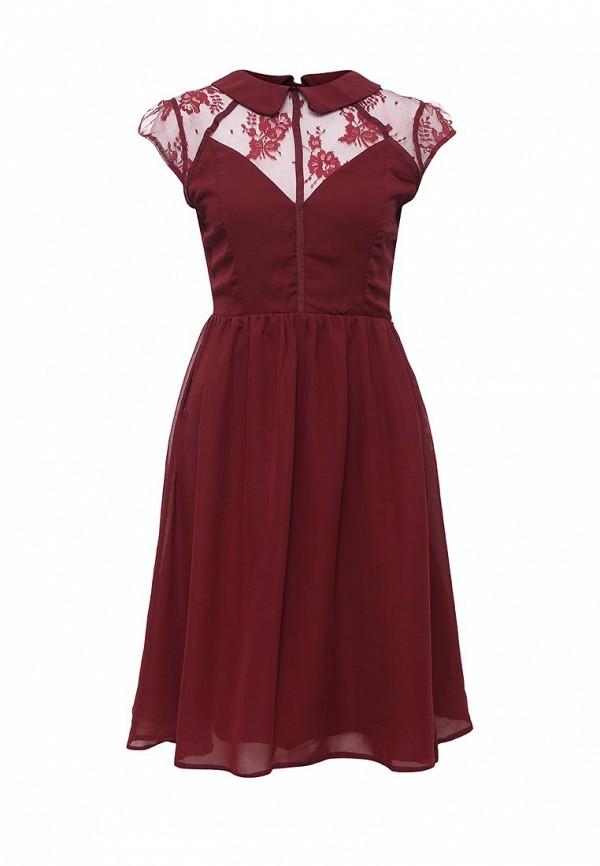 Платье-миди LOST INK. (ЛОСТ ИНК.) FW16LIW1502050101